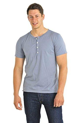 Herren Shirt 1/2 Arm Edgar Schiesser Revival graphit 120-119-207
