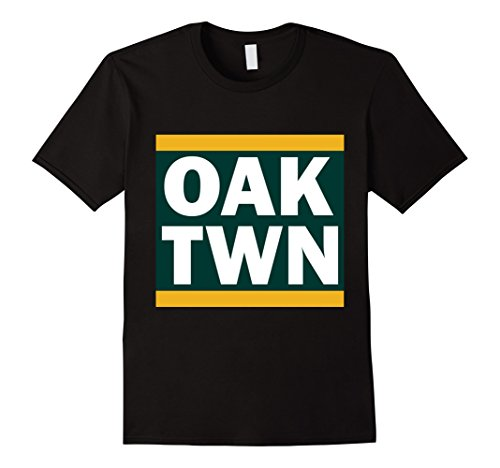 Used, Mens OAK TWN (Oakland, CA) shirt 2XL Black for sale  Delivered anywhere in USA