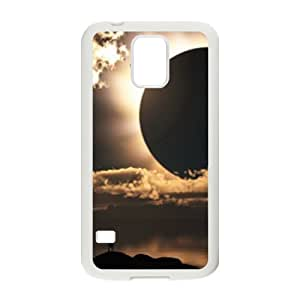 Sun Moon Space Design Discount Personalized Hard Case Cover for SamSung Galaxy S5 I9600, Sun Moon Space Galaxy S5 I9600 Cover