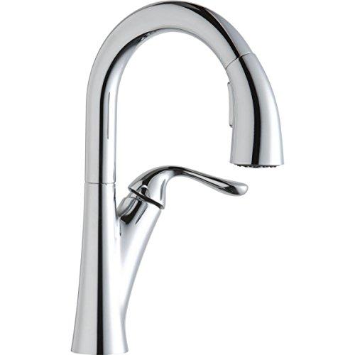Elkay LKHA4032CR Harmony Chrome Single Lever Pull-down Spray Bar Faucet ()