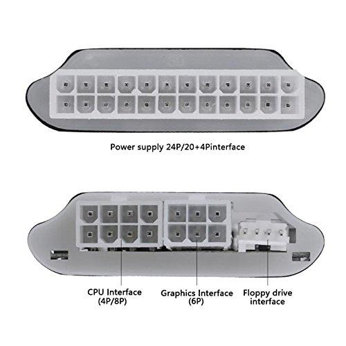 AMZVASO - Digital LCD Display Pc Power Supply Tester Checker Power ATX Measuring Tester Electronic Repair Tool by AMZVASO (Image #3)