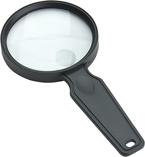 Educational Magnifier (Carson MagniView 2x Lightweight Hand-Held Magnifier with 4.5x Spot Lens for Reading, Hobby, Crafts, Inspection and Tasks (DS-36))