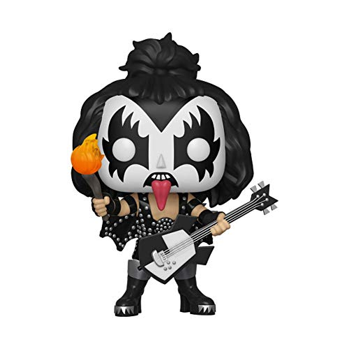 Funko- Pop Vinilo Kiss The Demon Figura Coleccionable, Multicolor, Estandar (28505)
