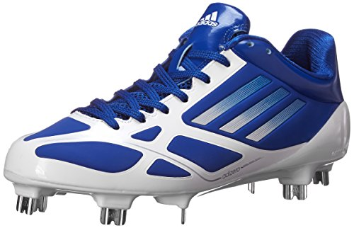 adidas Performance Men's Adizero 5-Tool 2.0 Baseball Shoe, Collegiate Royal/Metallic Silver/Running White, 7 M US