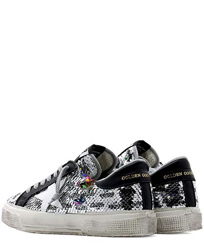 Donna Pelle Sneakers G34ws127k9 Golden Argento Goose Tw7xEE