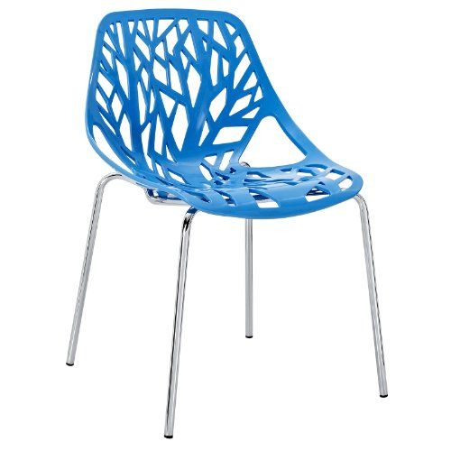 Modern Dining Chair, Blue, Outdoor and Indoor by America Luxury - Chairs