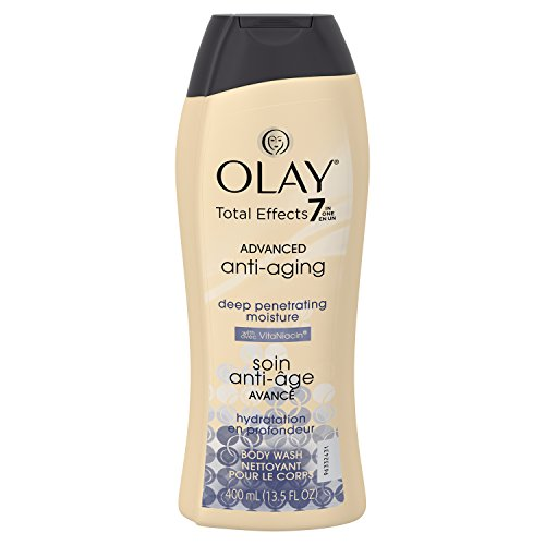 Advanced Effects - Olay Total Effects 7 In One Deep Penetrating Moisture Body Wash, 13.5 Fluid Ounce