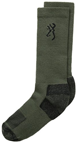 Browning Insect Shield Sock is lightweight and proven to repel mosquitoes, ants, ticks, flies, chiggers and midges. Permethrin repellent provides odorless protection. Ultra Dri Moisture Wicking for enhanced performance and cooler, drier comfo...