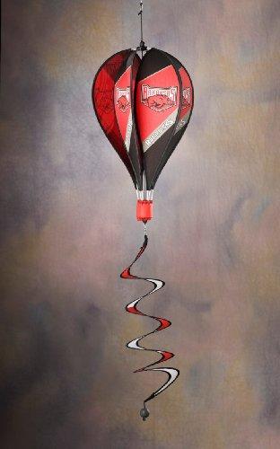 NCAA Arkansas Razorbacks Hot Air Balloon Spinner