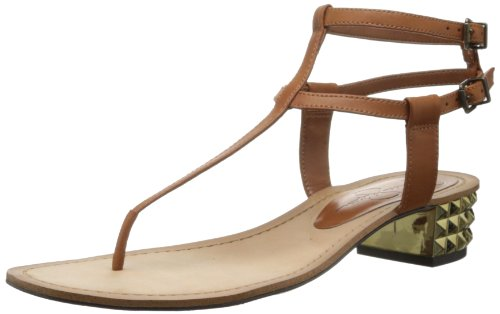 Jessica Simpson Women's Gerety Dress Sandal,Light Luggage,5.5 M US