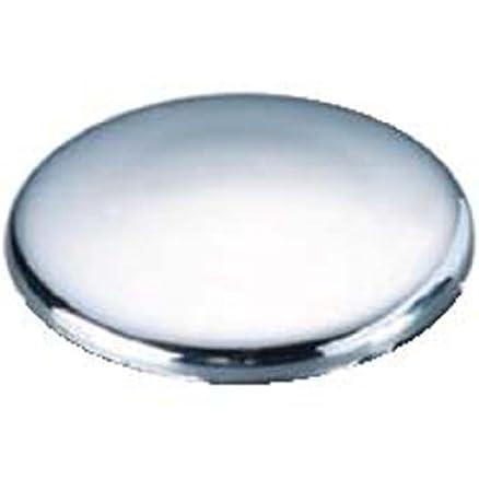 Lavandino rubinetto fori tappo in acciaio inox lucidato e plastica ...