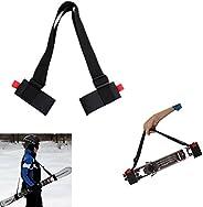 Ski Shoulder/Handle Carrier Straps Belt,for Skis Base Protector Transportation And Easy Storage