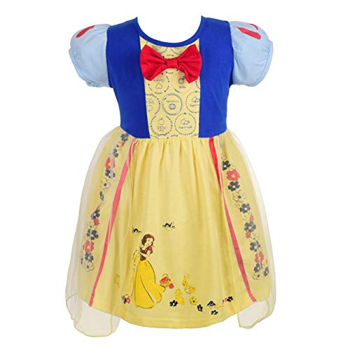 (Dressy Daisy Princess Snow White Dress for Toddler Girls Halloween Fancy Party Costume Dress Size 3T)