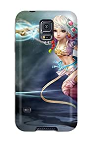 Forever Collectibles The Beautiful Girl Hard Snap-on Galaxy S5 Case