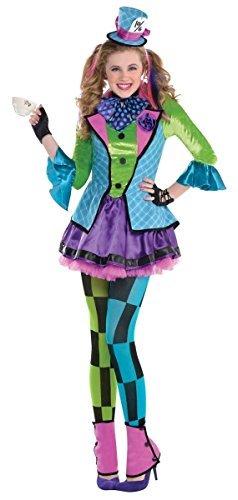 Teen Girl Mad Hatter Costume (Amscan Sassy Mad Hatter Costume - Teen)