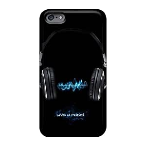 PhilHolmes Iphone 6 Shock Absorption Hard Phone Cases Allow Personal Design Attractive Bon Jovi Pattern [MlE10519QEae]
