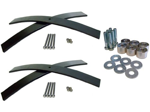 Jeep Wrangler YJ Front and Rear 2-3 Inch Budget Boost Lift Kit w/ T-Case Drop
