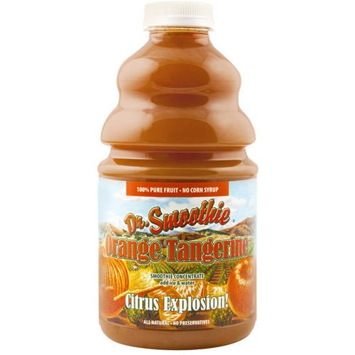 Dr. Smoothie Smoothie Mixes 100% Crushed Orange Tangerine by Dr. Smoothie Brands