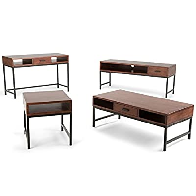 Simpli Home Riordan Coffee Table, Russet Brown -  - living-room-furniture, living-room, console-tables - 41aOfyq%2B IL. SS400  -