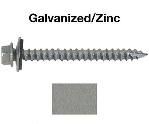 14-metal-roofing-screws-250-screws-x-2-1-2-galvanized-zinc-hex-head-sheet-metal-roof-screw-self-star