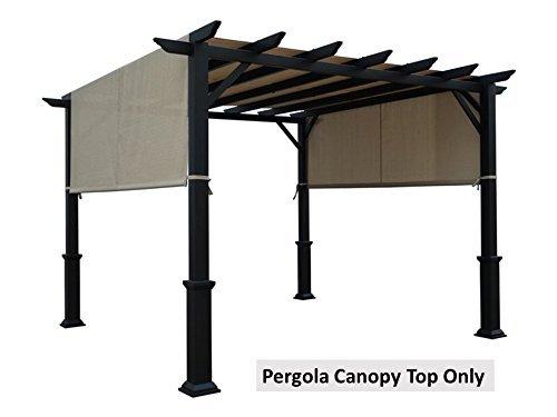 ALISUN Universal Replacement Canopy Top for 8' x 10' Pergola