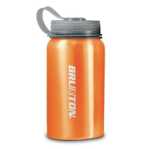 Brunton New Aluminum 0.6 Liter Water Bottle (Orange)