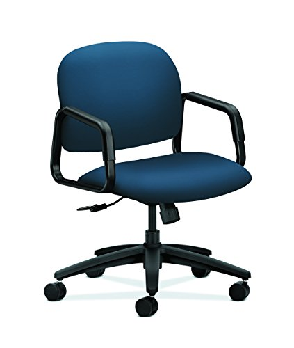 HON HON4002UR96T Solutions Seating Chair, Ocean - Ocean Leather Chair