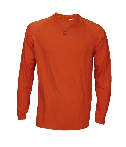 Reebok NFL Equipment Men's Graphite Logo Boost Shirt (Large, Orange)