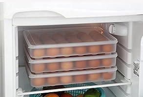 milopon Huevera Huevos estante para frigorífico Huevos Caja ...