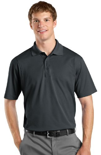 Sport Tek Men's Big Micropique Sport-Wick Sport Shirt, Iron Grey, X-Large from Sport-Tek