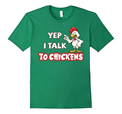 Shirt I talk to chickens T-shirts Funny gifts for Farmers
