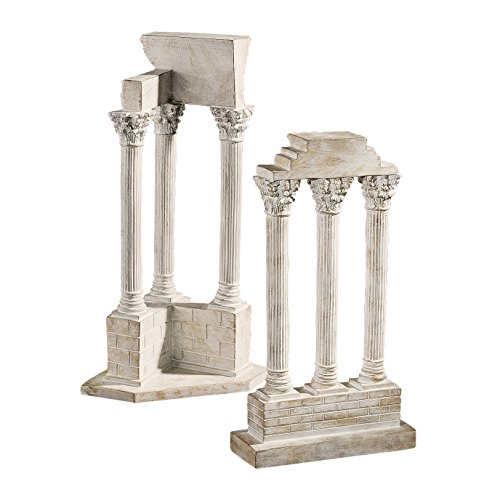 (Design Toscano Roman Forum Columns Set in)