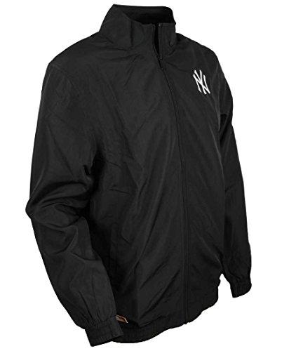 Team Apparel Track Jacket NY Yankees Black Medium
