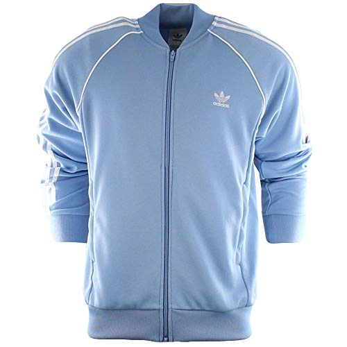 adidas Originals Men's SST Track Top Ash Blue XX-Large