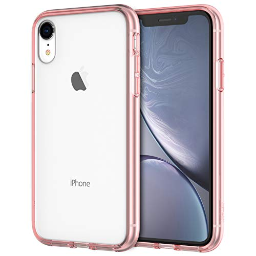 JETech Case for Apple iPhone XR 6.1-Inch, Shock-Absorption Bumper Cover, Rose Gold (Best Case For Gold Iphone)