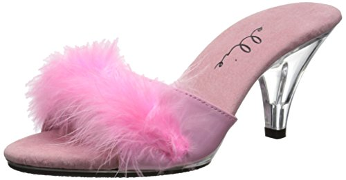 Pink Feather Shoes (Ellie Shoes Women's 305-sasha, Pink, 9 M)