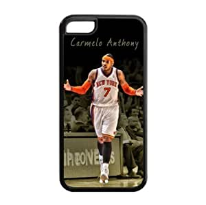 TYH - Newly Designed iPhone 4/4s TPU Case with New York Knicks Carmelo Anthony Image for NBA Fans-by Allthingsbasketball ending phone case