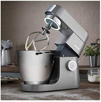 DeLonghi Titanium Chef System Pro robot de cocina, 1500 W, 3 kg, 10 Decibelios, Plata: Amazon.es: Hogar