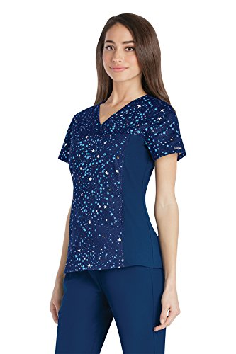 flexible scrub tops - 5
