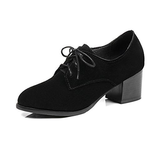Femmes Noir amp;S MEI Chaussures Bloc Talon Chaussures OtwS7nY