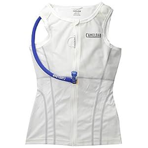 Camelbak RaceBak Women's 70 oz Hydration Pack, Small, White/Silver