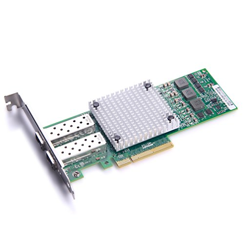 For Broadcom BCM57810S Controller 10 Gigabit Ethernet Sever Adapter Card, Dual SFP+ Port