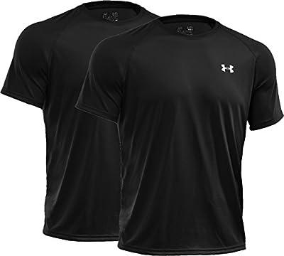 Under Armour Men's UA Tech Short Sleeve T-Shirt, 2-Pack