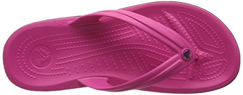 Adulte Tongs Crocband Flip Crocs Rose candy Pink Mixte FCTHx