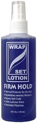 African Essence Wrap/Set Lotion 4 oz.