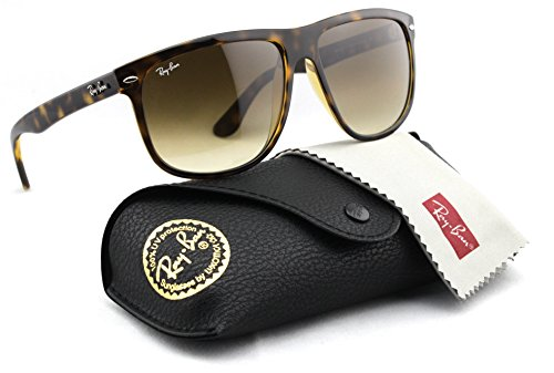 Ray-Ban RB4147 710/51 Sunglasses Tortoise / Light Brown Gradient Lens - Tortoise Ban Aviator Ray