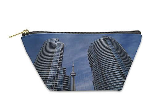 Ontario Canada Pc - Gear New Accessory Zipper Pouch, Cn Tower In Toronto Ontario Canada, Small, 5659651GN