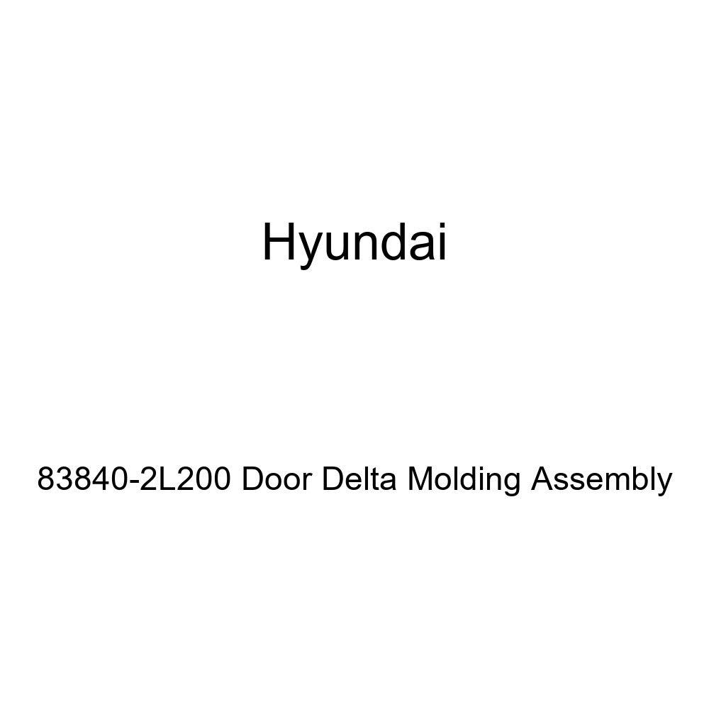 Genuine Hyundai 83840-2L200 Door Delta Molding Assembly
