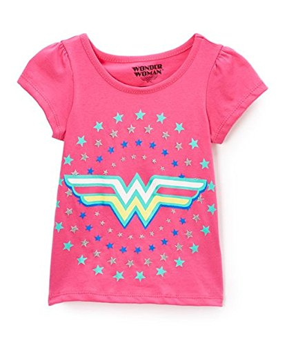 Wonder+Woman+Shirts Products : Girls Pink Wonder Women T-Shirt
