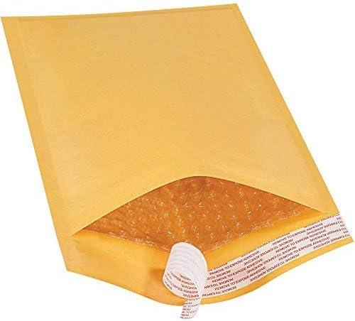 Top Pack Supply Self-Seal Bubble Mailers 1 7 1/4 x 12 Kraft (Pack of 25) [並行輸入品]